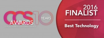 THEMIS GLOBAL - shortlisted for the 'Best Technology' award at the upcoming Collections & Customer Service Awards 2016
