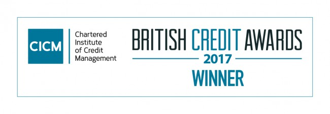 THEMIS GLOBAL - CICM British Credit Award Winners - Third Party Debt Collection Team of the Year